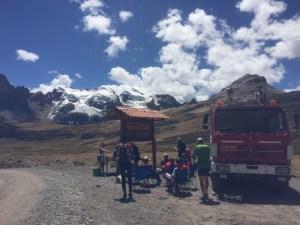 höchste Mittagspause auf 4800m