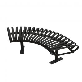carnival curved bench