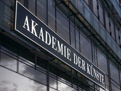 Die Akademie der Künste direkt neben dem Brandenburger Tor