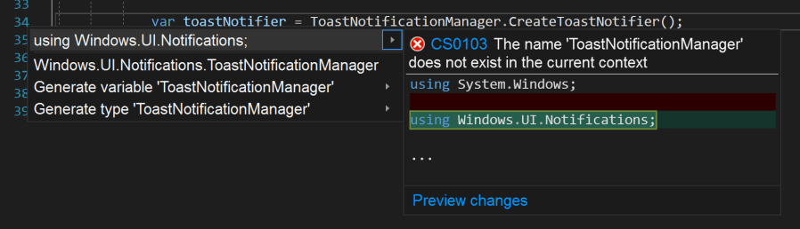 Calling Windows 10 APIs From Your WPF Application – Thomas
