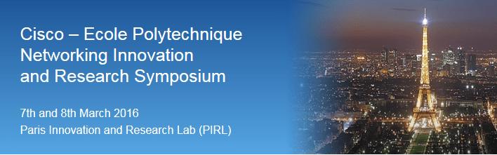 Cisco-Polytechnique Symposium 2016