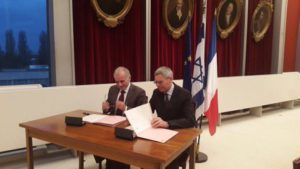 Signature of MoU between Ecole Polytechnique and Hebrew University of Jerusalem