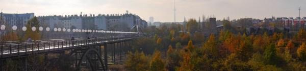 Lichtgrenze,Berlin Mitte,Schwedter Steg, 9.November 2014©thomasgrenz-fotografie.de