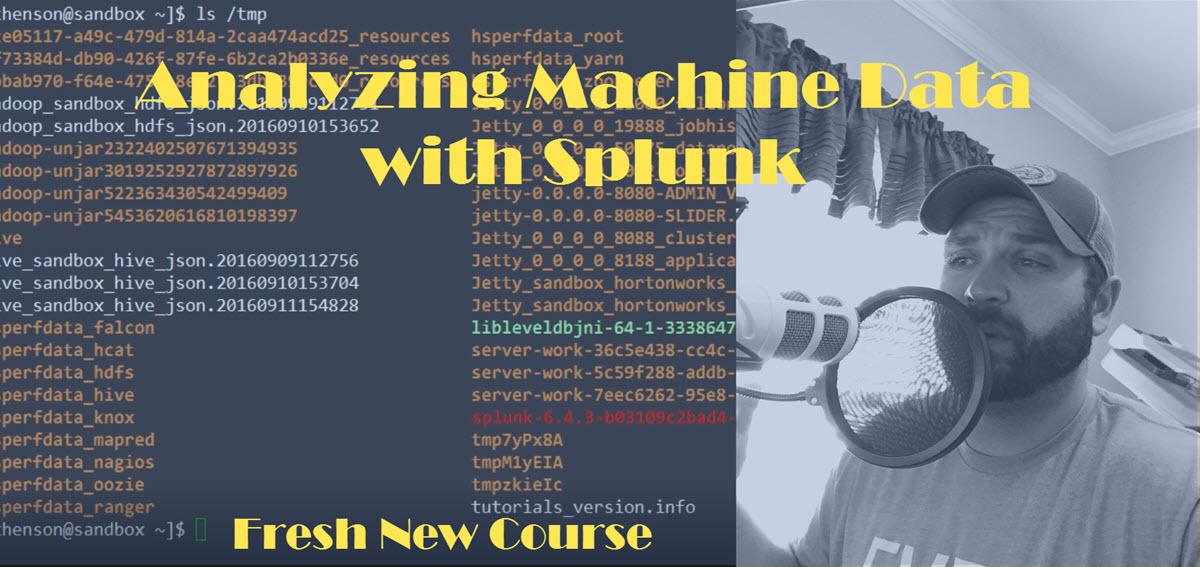 Analyzing Machine Data with Splunk - Thomas Henson