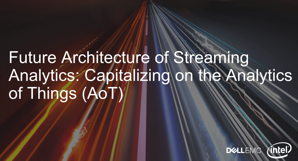 Future Architecture of Streaming Analytics