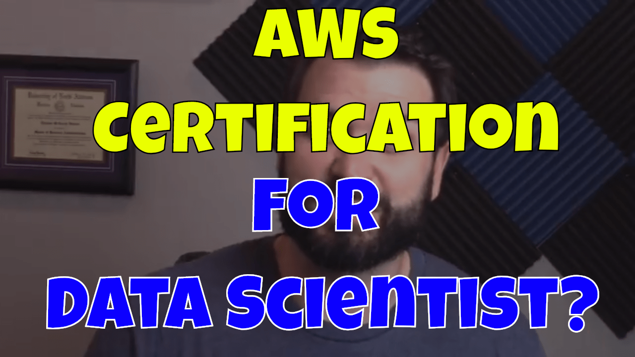Is an AWS Certification Required for Data Scientist? - Thomas Henson