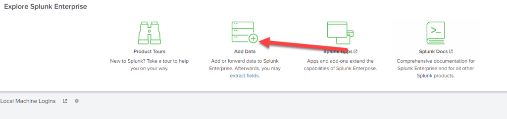 Splunk Hello World Application