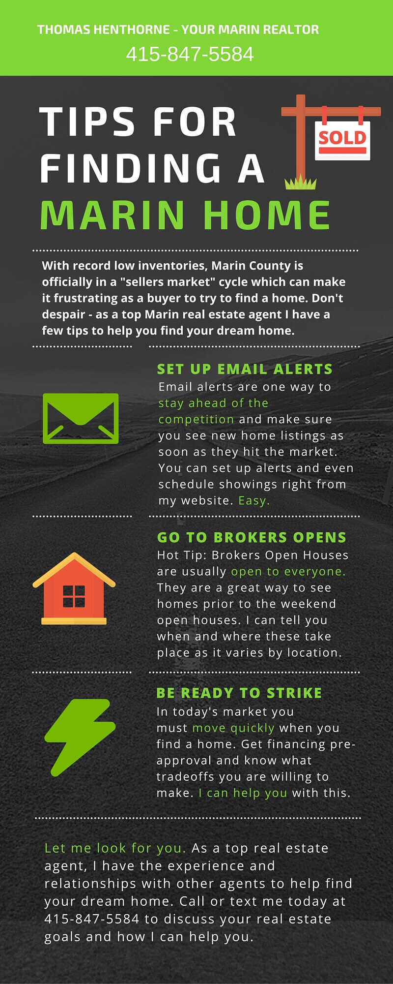 Marin home buying tips infographic for web