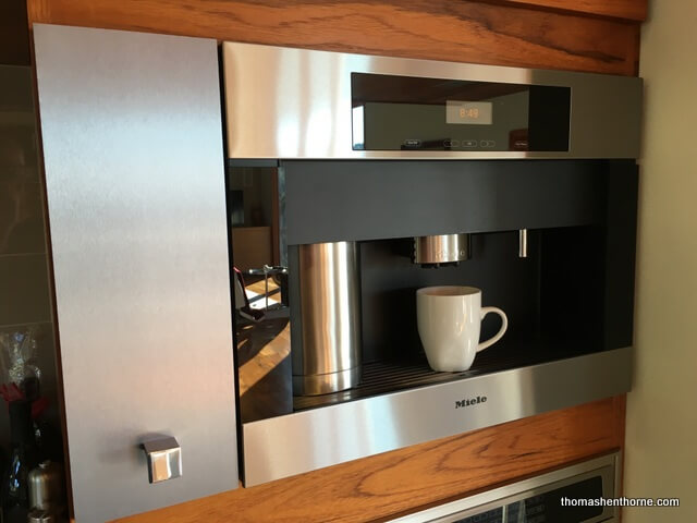 marin luxury real estate often features a kitchen coffee maker photo of miele unit
