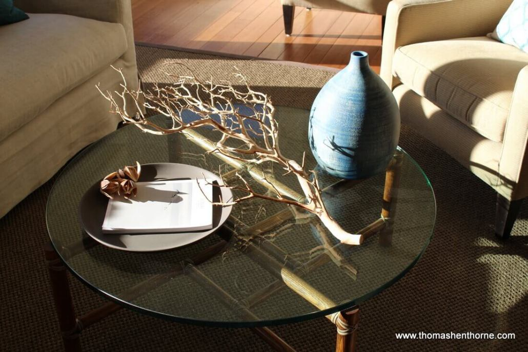 Photo of coffee table at 21 Underhill Road