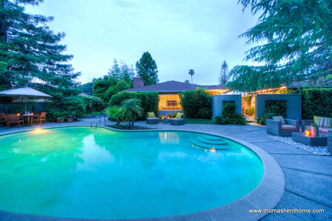 Pool View at 20 Loma Linda San Rafael