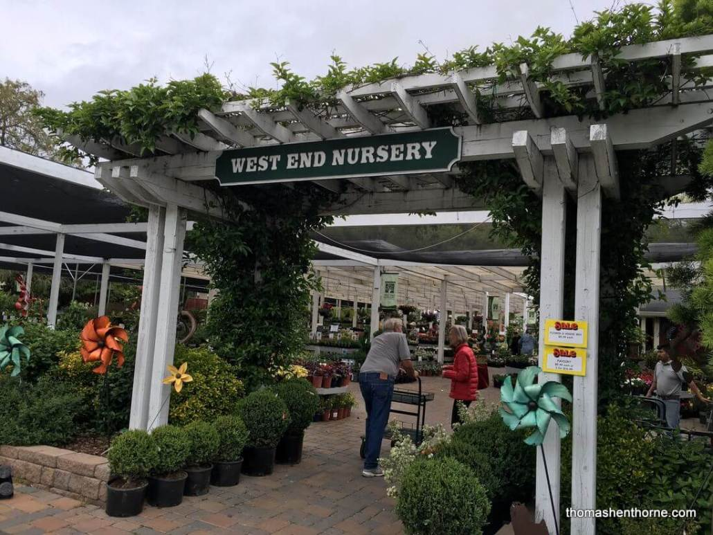 Best of San Rafael Front entrance of West End Nursery