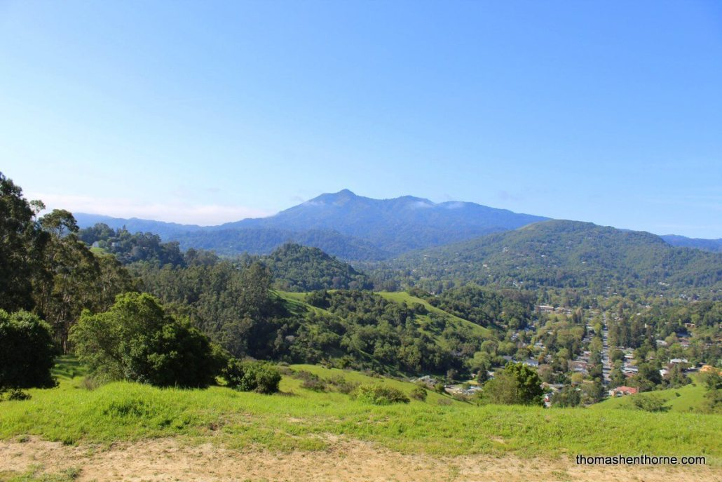 photo of Mt. Tamalpais for best of san rafael article