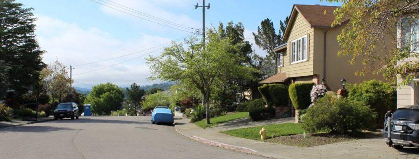 Ridgewood trail parking on street