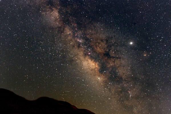 Milky Way photo by Derek Rowley Sonoma coast