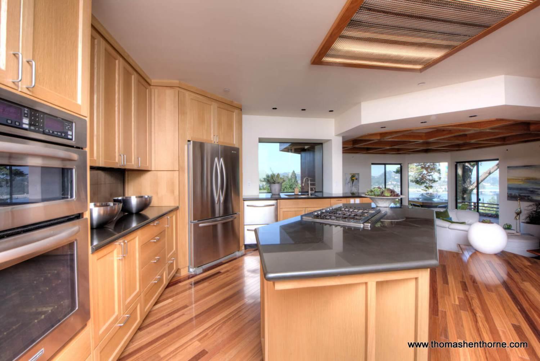 Daytime kitchen view