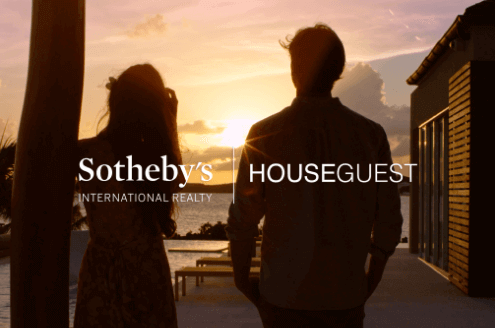 Photo of man and woman silhouetted at sunset for Houseguest Episode Two Article