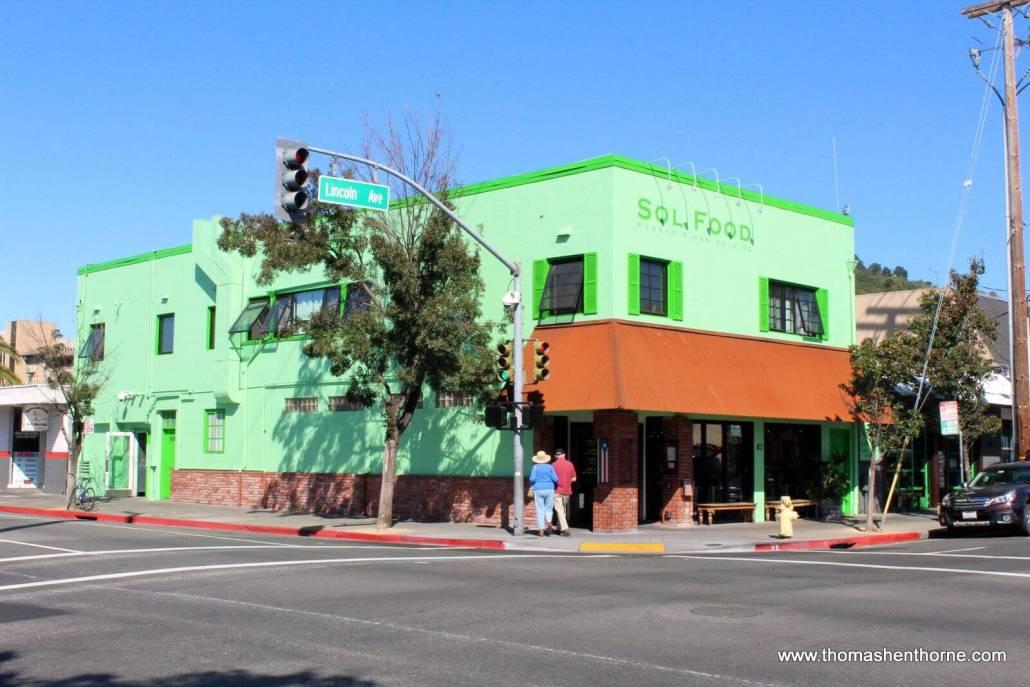 Exterior of Sol Food in San Rafael, California