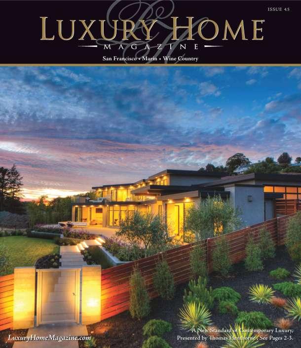 21 Gilmartin Tiburon Luxury Home Magazine Cover