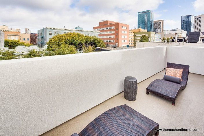 City views from 124 Lily Place San Francisco