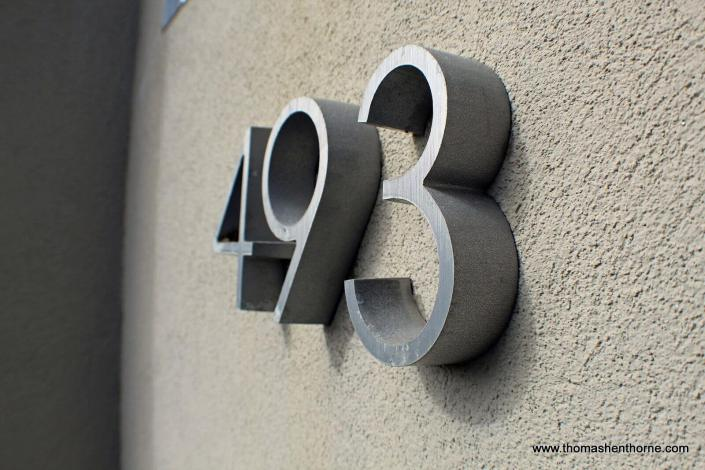 493 address numerals