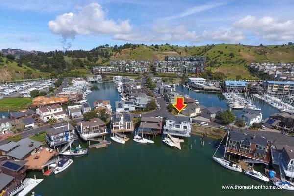 1298 Sanderling Island Point Richmond Aerial Shot