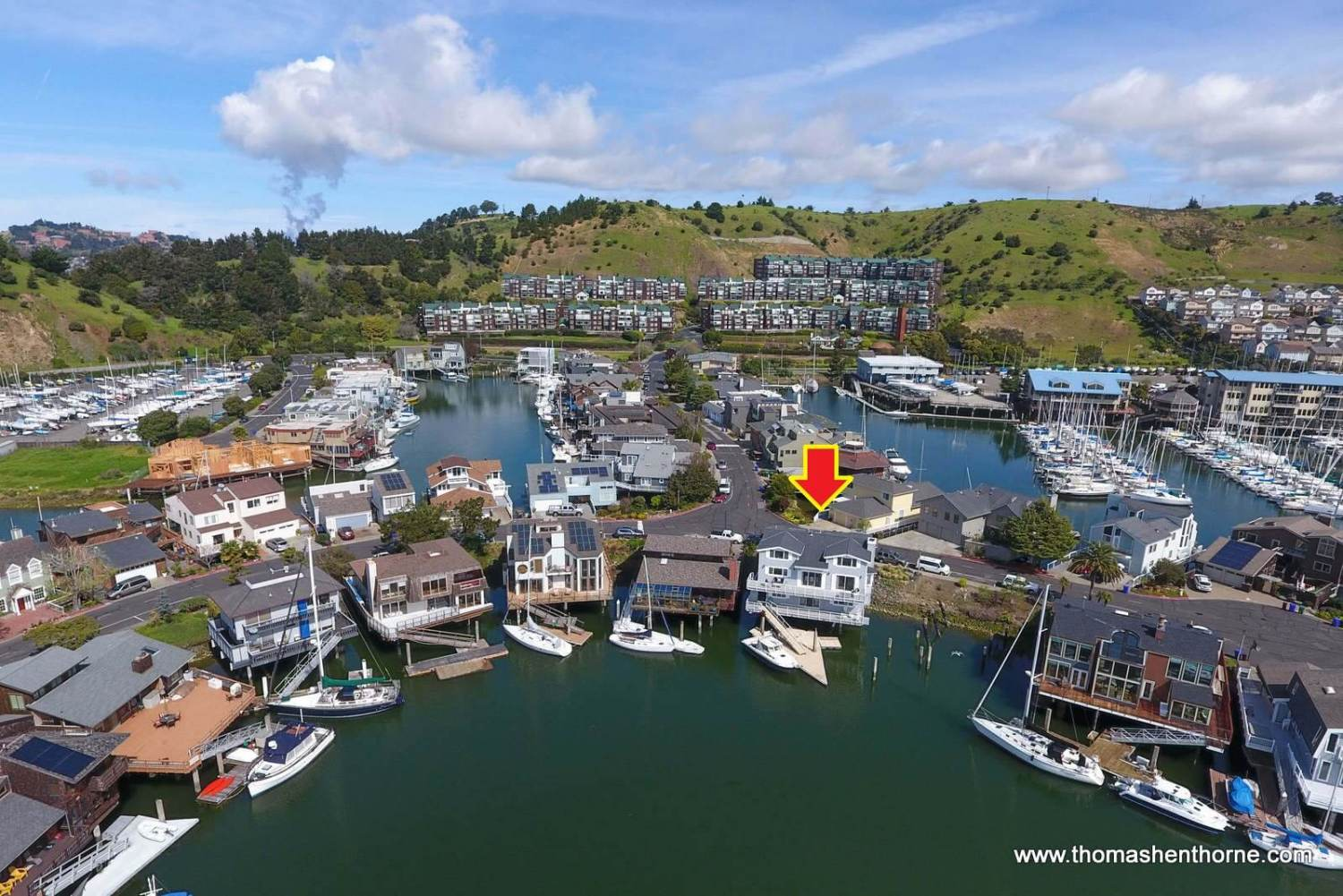 1298 Sanderling Island Point Richmond Aerial Shot