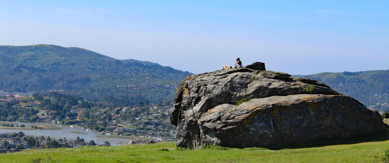 Big rock for climbing