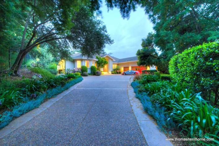 Front driveway