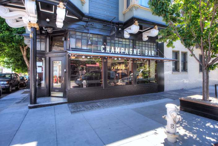 Champagne Bar in San Francisco