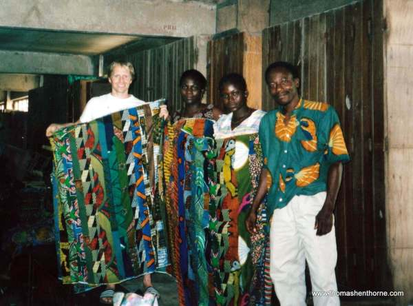 Buying Fabric in Togo