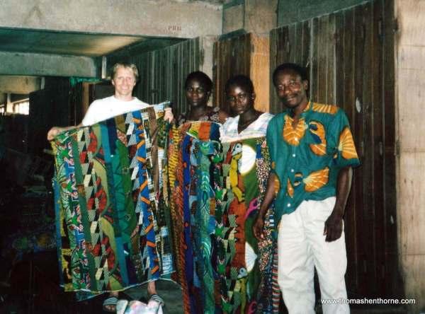 Buying Fabric in Togo
