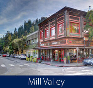 Mill Valley Homes for Sale Downtown