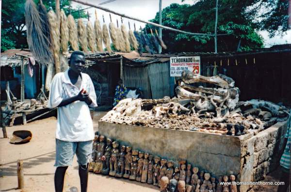 Voodoo Market in Lome, Togo