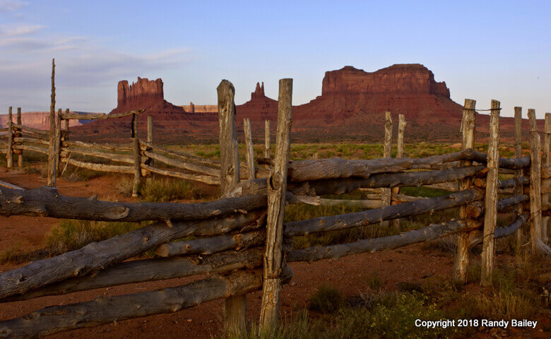 Corral and Monuments