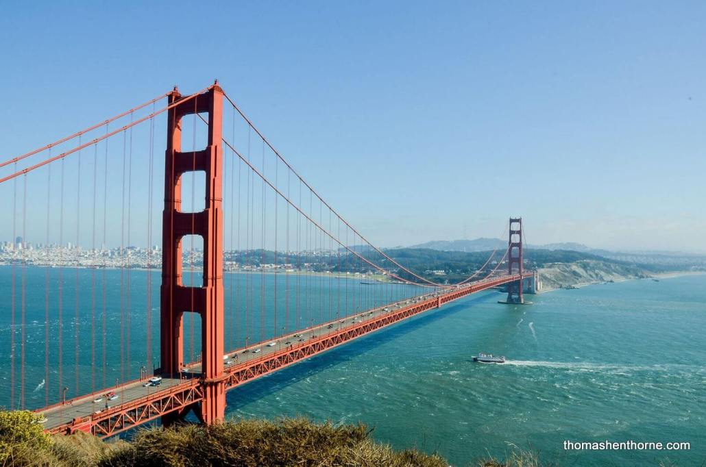 Golden Gate Bridge for Living in Marin County Article