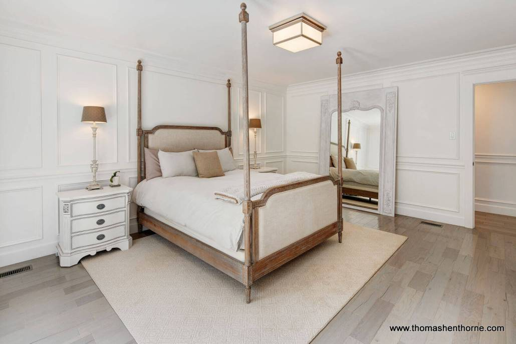 Master bedroom day shot