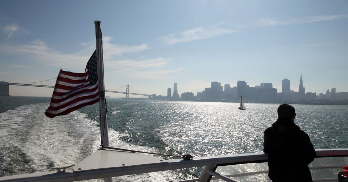 Golden Gate Ferry from San Francisco to Marin County