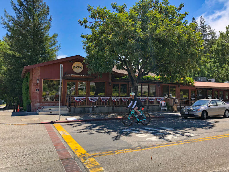 Picco Front of Restaurant Street View