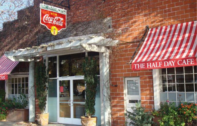 Half Day Cafe Exterior