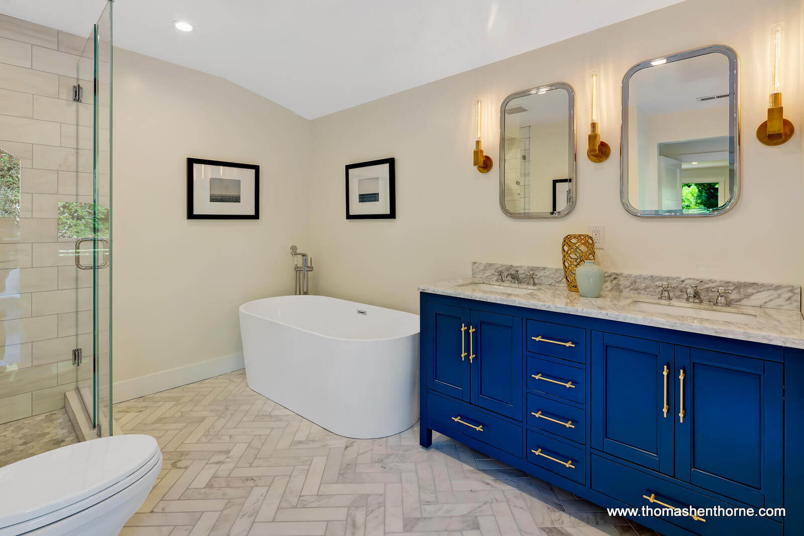 Master Vanity With Double Sink