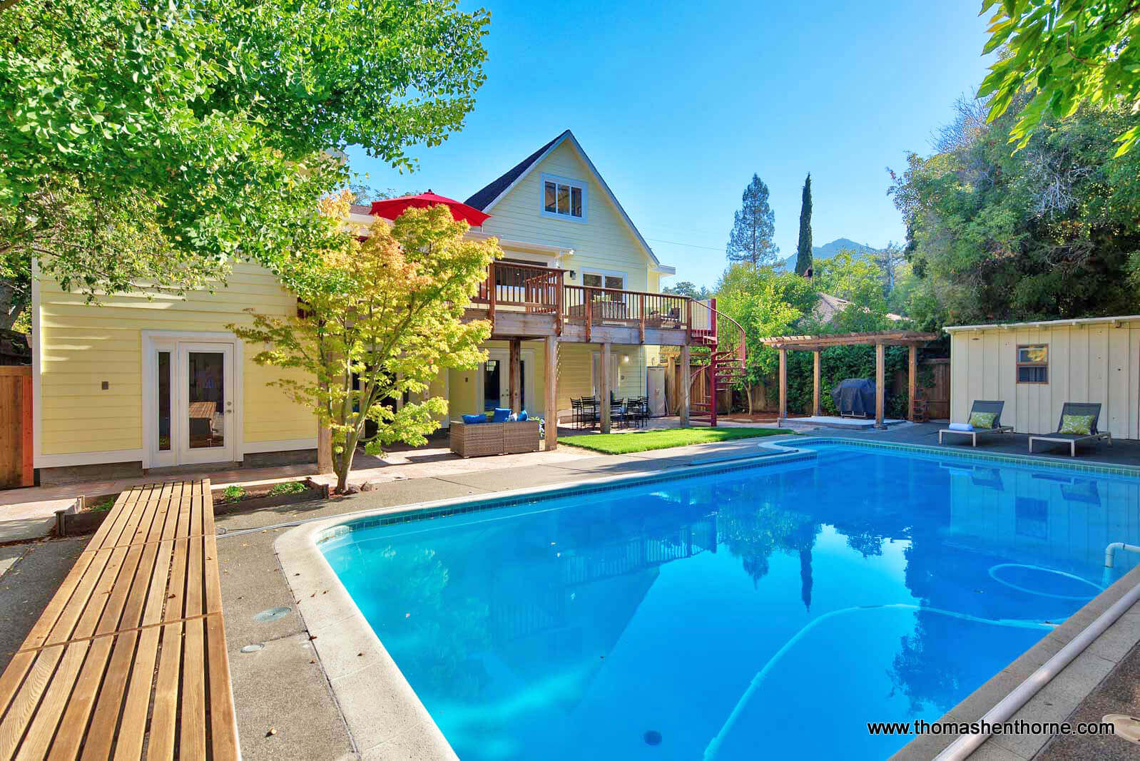 Swimming Pool and home