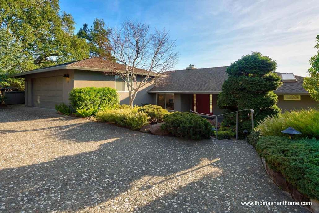 Front exterior of 28 Lochness Lane in San Rafael