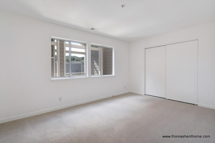 Empty room with carpet