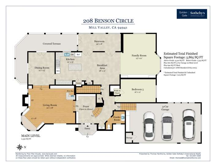 Floorplan Main Level