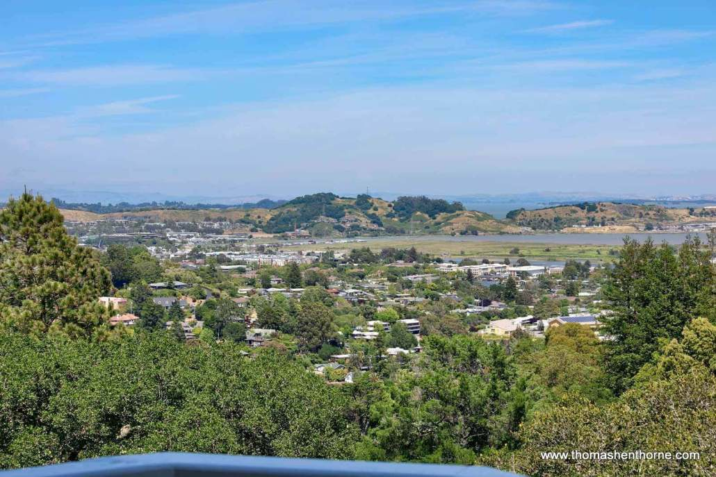 Aerial view of Corte Madera