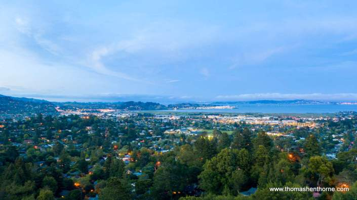 View of Corte Madera from Christmas Tree Hill