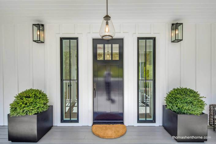 Front Door to Modern Farmhouse