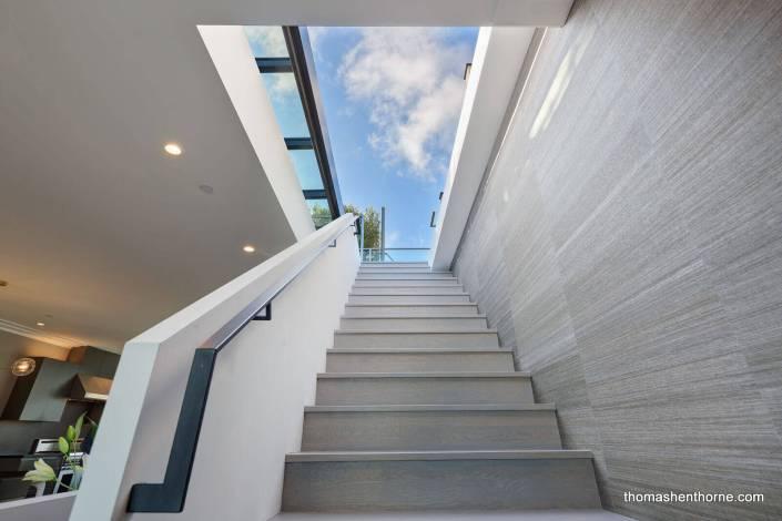 Modern stairway