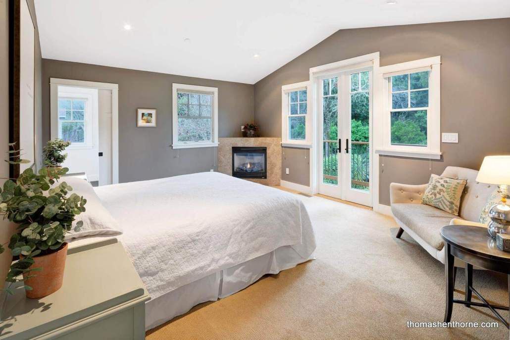 Master Bedroom at 195 San Francisco Blvd San Anselmo